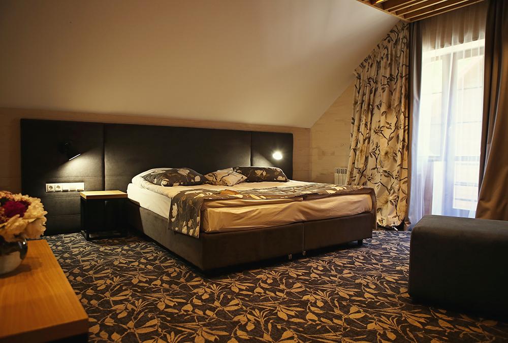 Номер в готелі Воєводино, Карпати